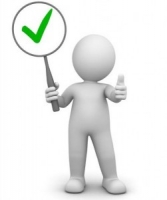 Проверка крупногабаритного товара по чек листу.