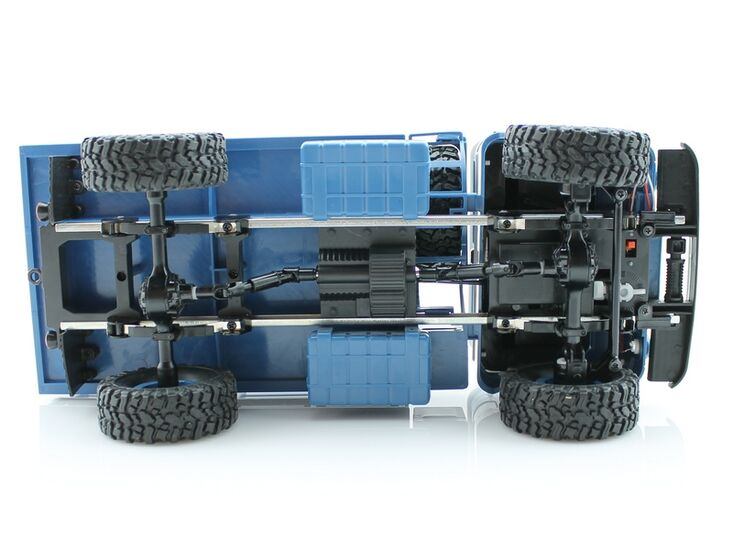 Радиоуправляемый грузовик ГАЗ-66 WPL (синий) 1/16+акб 2.4G RTR
