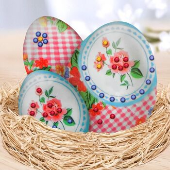 Набор для декорирования пасхальных яиц в технике декупаж
