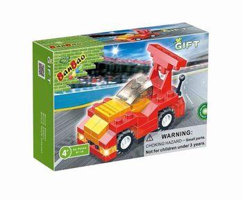 Конструктор Banbao (Банбао) 8116 Формула 1, красная, 54 детали