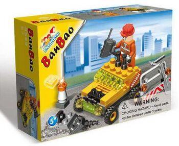 Конструктор Banbao (Банбао) 8529 Строительная машинка 48 деталей