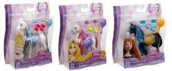 Набор с аксессуарами Создай прическу - Лошадь Золушки, Disney Princess