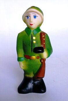 Пехотинец 11 см, игрушка ПВХ