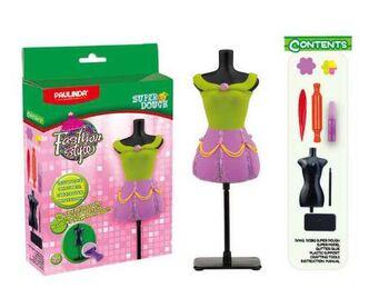 Масса для лепки Мода и стиль, набор для создания наряда для куклы
