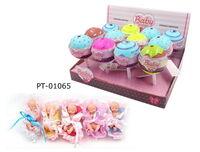 Пупс-куколка (сюрприз) в конфетке, серия Baby boutique, с аксессуарами, 12 шт. в дисплее, 5 видов