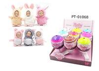 Пупс-куколка (сюрприз) в конфетке, серия Baby boutique, с аксессуарами, 9 шт. в дисплее, 6 видов , (3 серия)