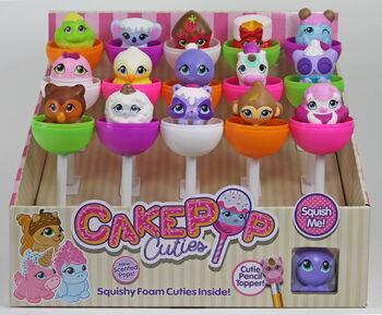 Игрушка в индивидуальной капсуле Cake Pop Cuties, 2серия, 15 шт. в дисплее 16 видов