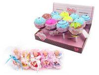 Пупс-куколка (сюрприз) в конфетке, серия Baby boutique, с аксессуарами, 12 шт. в дисплее 5 видов в ассортименте,