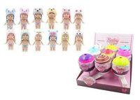 Пупс-куколка (сюрприз) в конфетке, серия Baby boutique, с аксессуарами, 9 шт. в дисплее 12 видов в ассортименте, (1 серия),