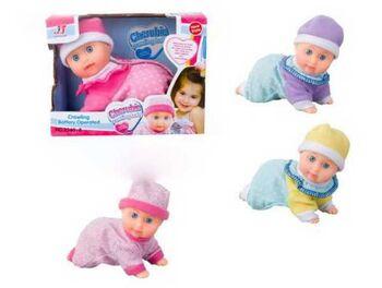 Пупс-кукла ползающая, в ассортименте