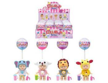 Пупс-куколка (сюрприз) в конфетке LolliPop Baby, с аксессуарами, 4 вида в ассортименте