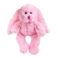 Кролик розовый, 15см