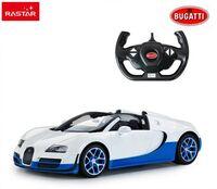 Радиоуправляемая машина Rastar 70400 Bugatti Grand Sport Vitesse 1:14, цвет белый