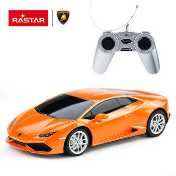 Машина Rastar 71500 Lamborghini HURACAN LP 610-4 1:24 Цвет Оранжевый