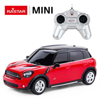 Машина Rastar 71700 MINI Cooper S Countryman 1:24 Цвет Красный