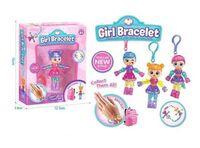 """Детская бижутерия Браслеты волшебные """"Girl Bracelet"""" , 12 см в ассортименте"""