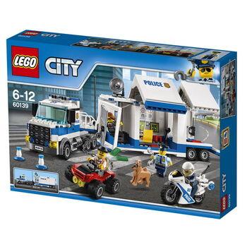 Конструктор LEGO CITY Мобильный командный центр