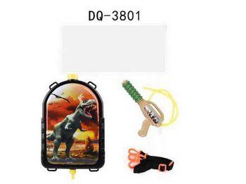 Водное оружие. Бластер с рюкзачком-резервуаром Динозавр, объем 2000мл