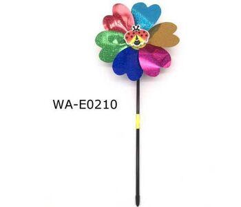 Ветрячок Цветочек большой, 53х21х6см, 4 вида в асссортименте