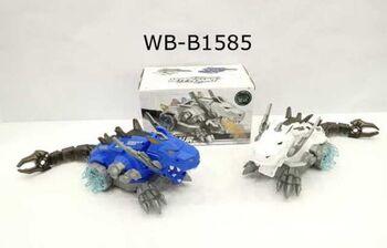 Динозавр-робот огнедышащий (с паром), движение, звуковые и световые эффекты