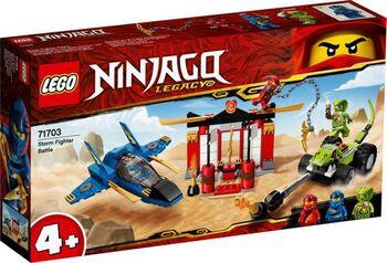 Конструктор LEGO NINJAGO Бой на штормовом истребителе
