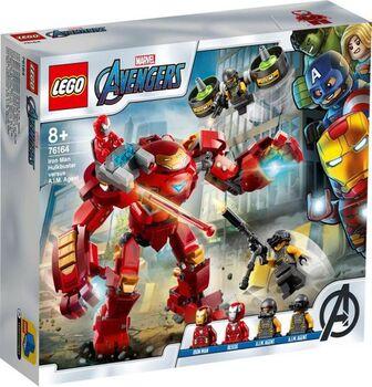 Конструктор LEGO Super Heroes Халкбастер против агента А.И.М