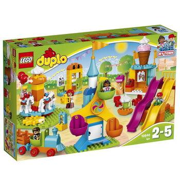 Конструктор LEGO DUPLO Большой парк аттракционов