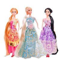 Кукла ABtoys, Модница, 3 вида, 30 см, в пакете