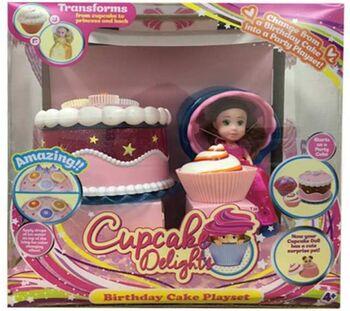 Cupcake Surprise. Набор Чайная вечеринка с Куклой - Капкейк и питомцем