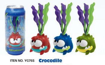 Игры с водой. Крокодил, 12 шт в дисплее