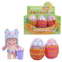 Пупс-куколка в яйце, 6 шт. в дисплее 6 видов в ассортименте,