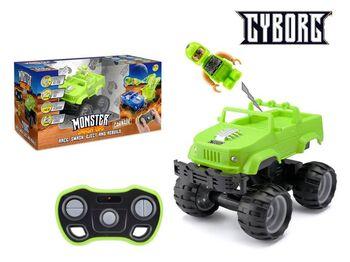 Машинка р/у разбивающийся внедорожник Monster Smash Ups, Cyborg