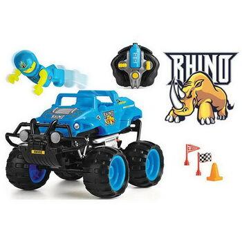Машинка р/у разбивающийся внедорожник Monster Smash Ups, Rhino