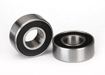Подшипники Ball bearings, black rubber sealed (5x11x4mm) (2)