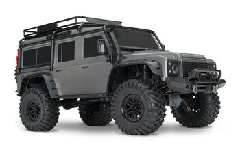 Радиоуправляемая машина TRAXXAS TRX-4 Land Rover Defender 1:10 4WD Scale and Trail Crawler TRA82056-4-S