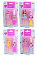Кукла-мини ABtoys, Любимая кукла, Модница с питомцем и акссесуаром, 9см