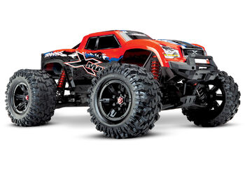 Радиоуправляемая машина Traxxas X-MAXX 1:5 4WD 8S Brushless TQi Ready to Bluetooth Module TSM Red