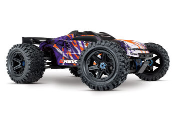 Радиоуправляемая машина Traxxas E-Revo VXL Brushless: 1:10 Scale 4WD Brushless Purple