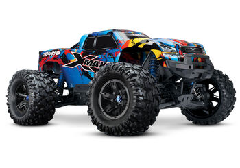 Радиоуправляемая машина Traxxas X-MAXX 1:5 4WD 8S Brushless TQi Ready to Bluetooth Module TSM Rock