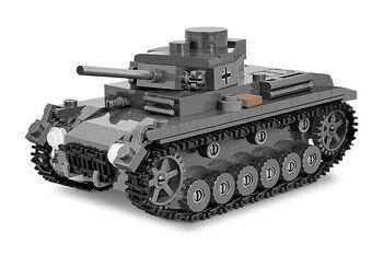 Пластиковый конструктор танк COBI 286  PCS  WOT  /3062/  PZ.KPFW.III  AUSF.J