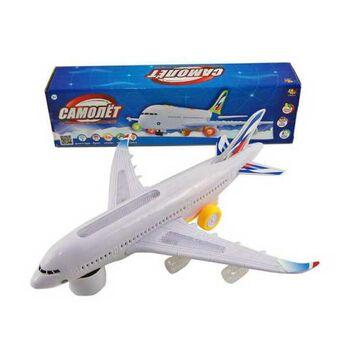 Самолет эл/мех со световыми и звуковыми эффектами, в коробке