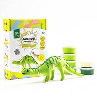 Конструктор, лепка. Бронтозавр