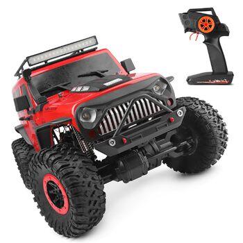 Краулер WLToys 104311 OFF ROAD JEEP 1:10 4WD EP (15 км/ч, красный)