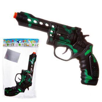 Пистолет Камуфляж, пластмассовый, в пакете