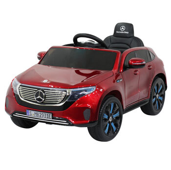 Электромобиль Mercedes Benz EQC 400 4MATIC - HL378-LUX-RED-PAINT