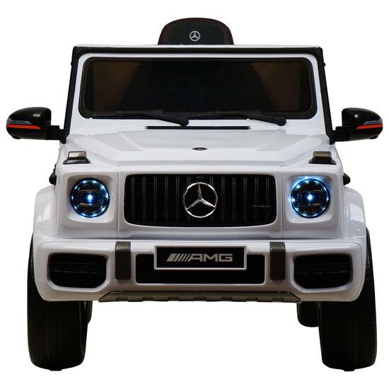 Электромобиль Mercedes-Benz G63 AMG 12V с высокой дверью - BBH-0002H-WHITE