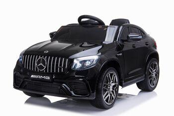 Электромобиль Mercedes-Benz GLC 63 AMG Black 12V - QLS-5688