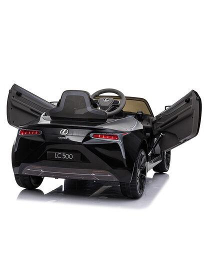 Электромобиль Lexus LC500 12V - JE1618-BLACK-PAINT