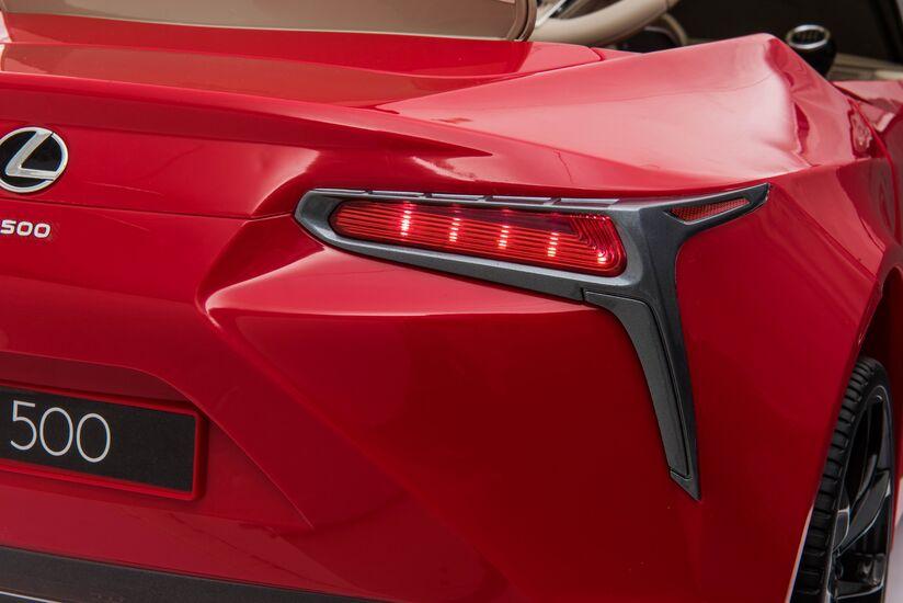 Электромобиль Lexus LC500 12V - JE1618-RED-PAINT
