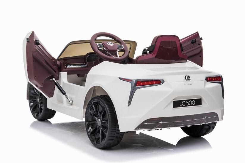 Электромобиль Lexus LC500 12V - JE1618-WHITE